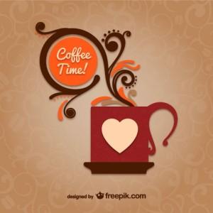 kaffee-zeit-vektor-mit-becher_23-2147499150